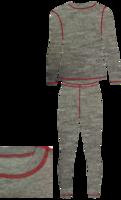 Термобельё детское NordKapp Junior Reimo (серый)