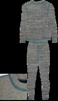 Термобельё детское Junior NordKapp SAMPO (серый)